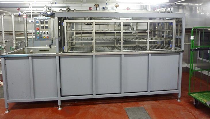 大型流水解凍機